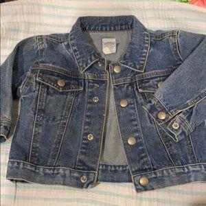 Gap denim jacket 12-18 months